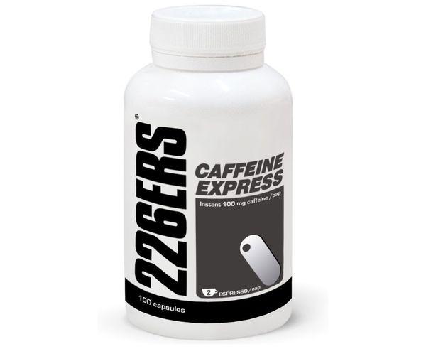 Gels Marca 226ERS Per Unisex. Activitat esportiva Nutrició i Cuidats, Article: CAFFEINE EXPRESS 100 CAPS.