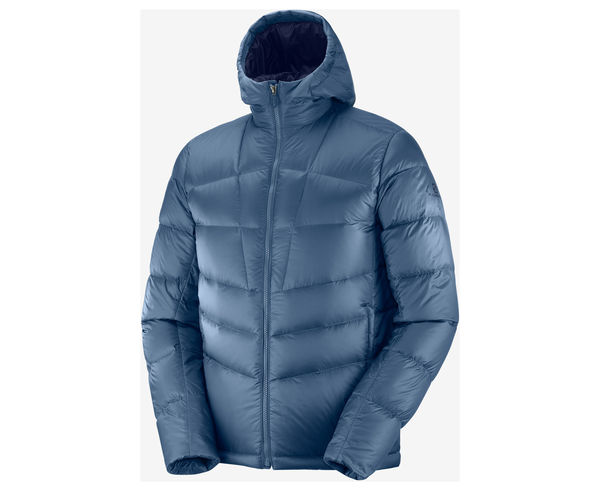 Jaquetes Marca SALOMON Per Home. Activitat esportiva Alpinisme-Mountaineering, Article: TRANSITION DOWN HOODIE M.