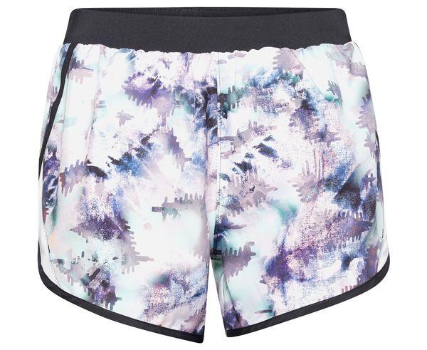 Pantalons Marca UNDER ARMOUR Per Dona. Activitat esportiva Running carretera, Article: W FLY BY 2.0 PRINTED SHORT.