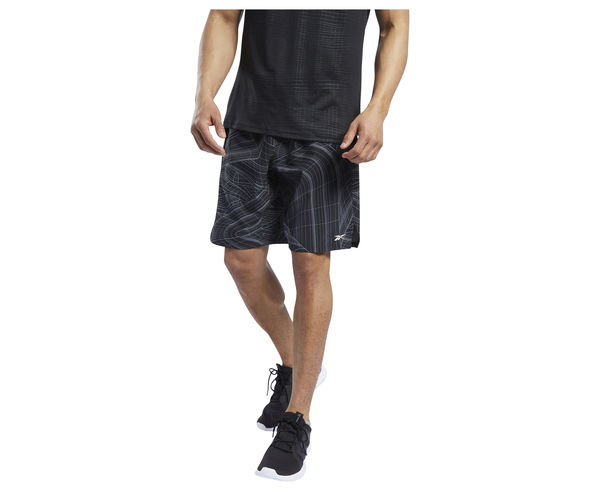 Pantalons Marca REEBOK Per Home. Activitat esportiva Fitness, Article: TS AOP SPEED SHORT.