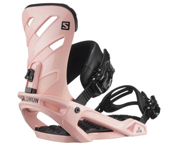 Fixacions Marca SALOMON SNOWBOARDS Per Dona. Activitat esportiva Snowboard, Article: RHYTHM TROPICAL PEACH.