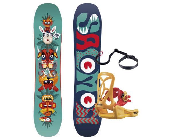 Taules Marca SALOMON SNOWBOARDS Per Nens. Activitat esportiva Snowboard, Article: TEAM PACKAGE.