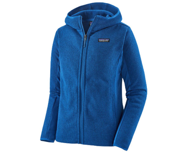 Folres Polars Marca PATAGONIA Per Dona. Activitat esportiva Excursionisme-Trekking, Article: W'S LW BETTER SWEATER HOODY.