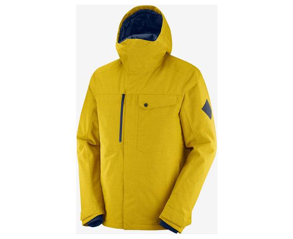 Jaquetes Marca SALOMON Per Home. Activitat esportiva Esquí All Mountain, Article: POWDERSTASH JKT M.