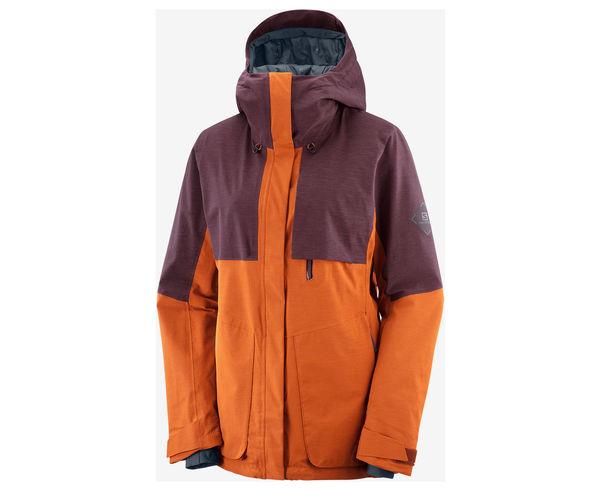 Jaquetes Marca SALOMON Per Dona. Activitat esportiva Esquí All Mountain, Article: PROOF LT INSUL JKT W.
