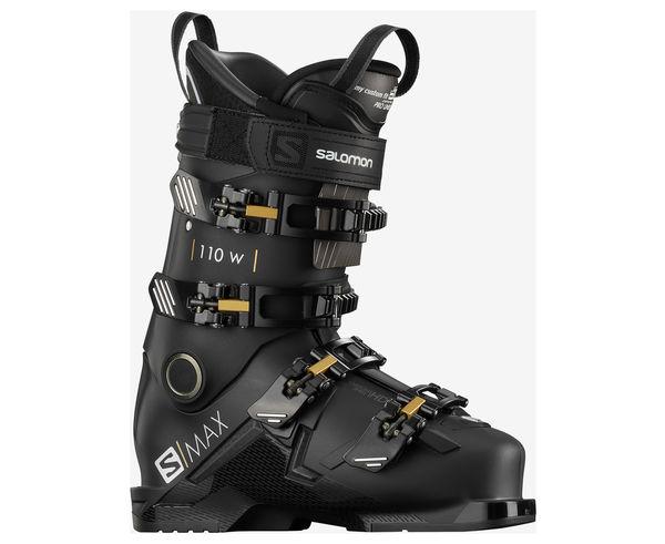 Botes Marca SALOMON Per Dona. Activitat esportiva Esquí All Mountain, Article: S/MAX 110 W.