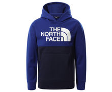 Dessuadores Marca THE NORTH FACE Per Nens. Activitat esportiva Mountain Style, Article: BOY'S SURGENT P/O BLOCK HOODIE.