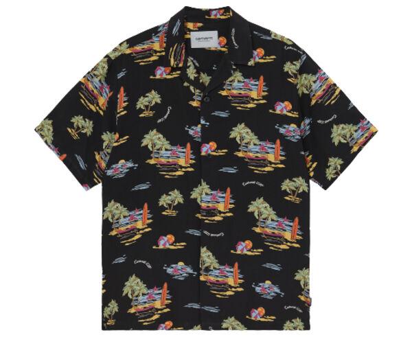 Camises Marca CARHARTT Para Home. Actividad deportiva Street Style, Artículo: S/S BEACH SHIRT.