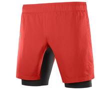 Pantalons Marca SALOMON Per Home. Activitat esportiva Trail, Article: XA TWINSKIN SHORTS M.