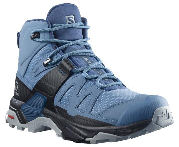 Botes Marca SALOMON Per Dona. Activitat esportiva Excursionisme-Trekking, Article: X ULTRA 4 MID GTX W.