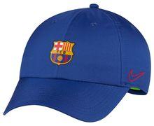 Motxilles-Bosses Marca NIKE Per Unisex. Activitat esportiva Futbol, Article: FCB U DRY H86 CAP.