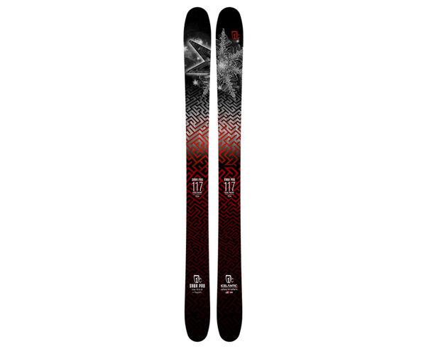 Esquís Marca ICELANTIC Para Unisex. Actividad deportiva Freeski, Artículo: SABA 117.