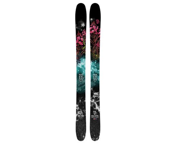 Esquís Marca ICELANTIC Para Dona. Actividad deportiva Freeski, Artículo: MAIDEN 101.