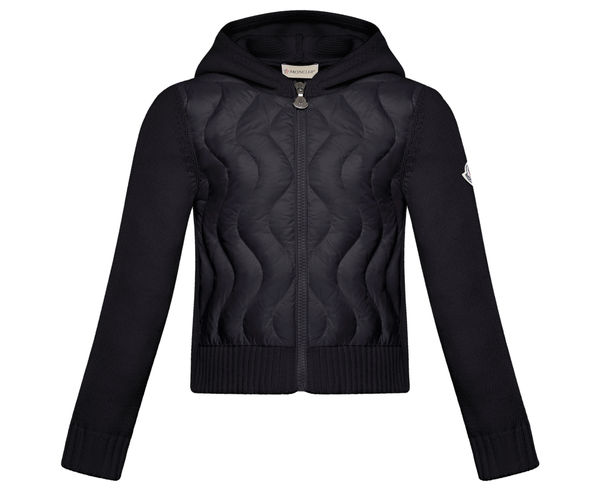 Dessuadores _BRAND_ MONCLER _FOR_ Nens. _SPORT ACTIVITY_ Casual Style, _ITEM_: MAGLIA TRICOT CARDIG.