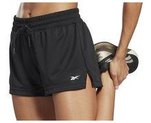 Pantalons Marca REEBOK Per Dona. Activitat esportiva Fitness, Article: WOR KNIT POLY SHORT.