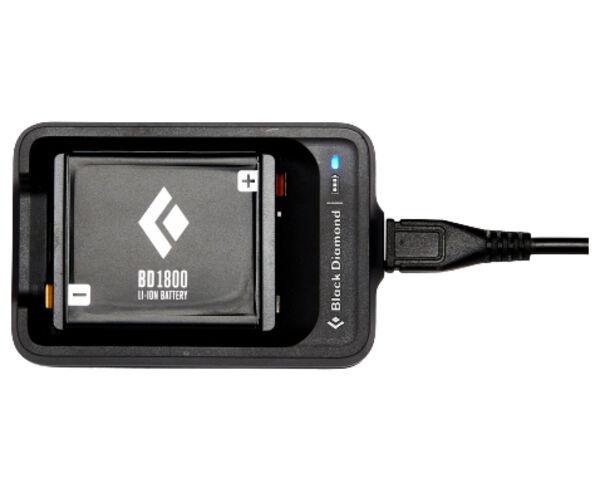 Bateries-Carregadors Marca BLACK DIAMOND Per Unisex. Activitat esportiva Electrònica, Article: BD 1800 BATTERY & CHARGER.