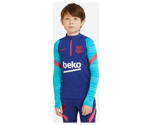 Dessuadores Marca NIKE Per Nens. Activitat esportiva Futbol, Article: FCB Y DRY STRKE DRIL TOP.