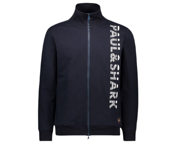 Dessuadores Marca PAUL & SHARK Per Home. Activitat esportiva Casual Style, Article: ORGANIC COTTON FULL ZIP SWEATSHIRT WITH PRINTED PAUL&SHARK.