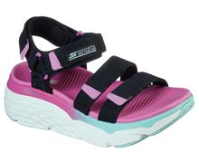 Sandàlies-Xancles Marca SKECHERS Para Dona. Actividad deportiva Street Style, Artículo: MAX CUSHIONING SLAY.
