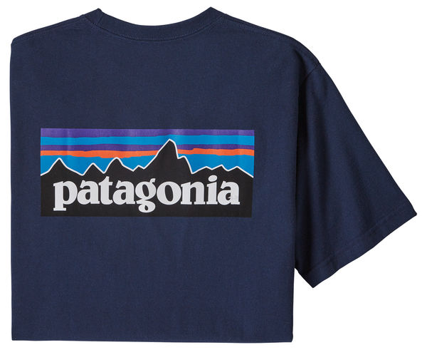 Samarretes Marca PATAGONIA Per Home. Activitat esportiva Mountain Style, Article: M'S P-6 LOGO RESPONSIBILI-TEE.