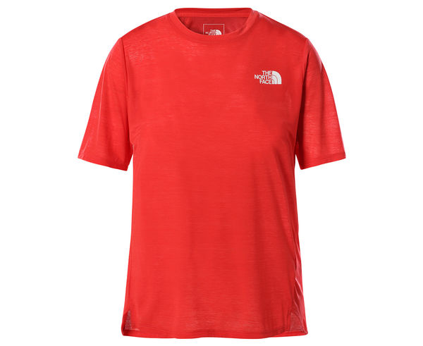 Roba Tèrmica Marca THE NORTH FACE Per Dona. Activitat esportiva Alpinisme-Mountaineering, Article: W UP WITH THE SUN S/S SHIRT.