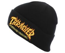 Complements Cap Marca THRASHER Per Home. Activitat esportiva Street Style, Article: FIRE LOGO BEANIE.