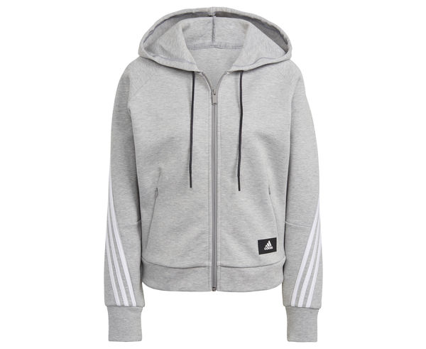 Dessuadores Marca ADIDAS Per Dona. Activitat esportiva Casual Style, Article: WOMENS BRANDED ICONS 3S FULL-ZIP HOODIE.