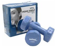 Pesos-Barres Marca SOFTEE Per Unisex. Activitat esportiva Musculació, Article: JOC PESES VINIL.