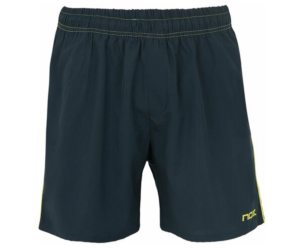 Pantalons Marca NOX Per Home. Activitat esportiva Tennis, Article: SHORT PRO AZUL LOGO LIMA.