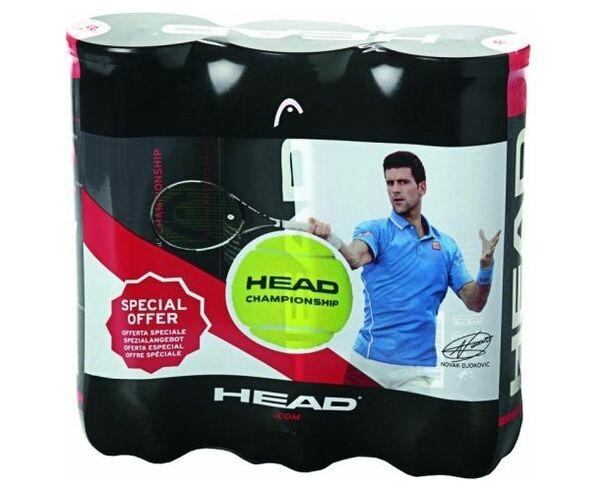 Boles Marca HEAD Per Unisex. Activitat esportiva Tennis, Article: 3X3B HEAD CHAMPIONSHIP.