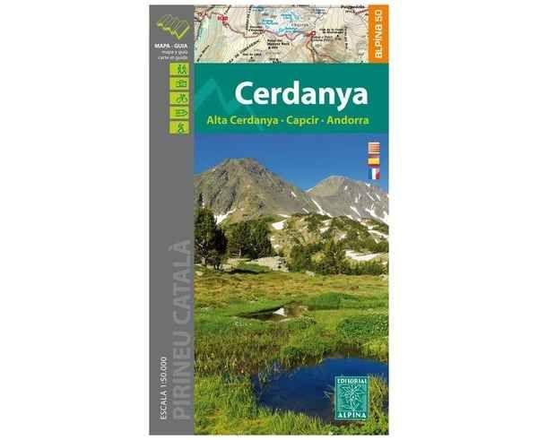 Bibliografies-Cartografies Marca EDITORIAL ALPINA Per Unisex. Activitat esportiva Trail, Article: CERDANYA.