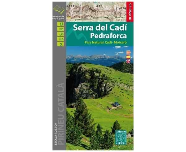 Bibliografies-Cartografies Marca EDITORIAL ALPINA Per Unisex. Activitat esportiva Trail, Article: SERRA DEL CADI.