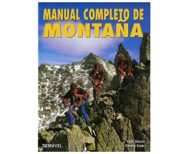Bibliografies-Cartografies Marca DESNIVEL Per Unisex. Activitat esportiva Alpinisme-Mountaineering, Article: MANUAL COMPLETO DE MONTANA.