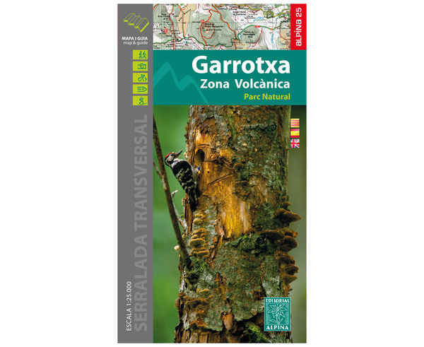Bibliografies-Cartografies Marca EDITORIAL ALPINA Per Unisex. Activitat esportiva Trail, Article: GARROTXA.
