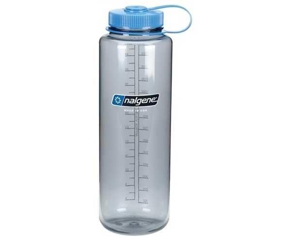 Hidratació Marca NALGENE Per Unisex. Activitat esportiva Trail, Article: BOUTEILLE GRISE GRDE OUV.
