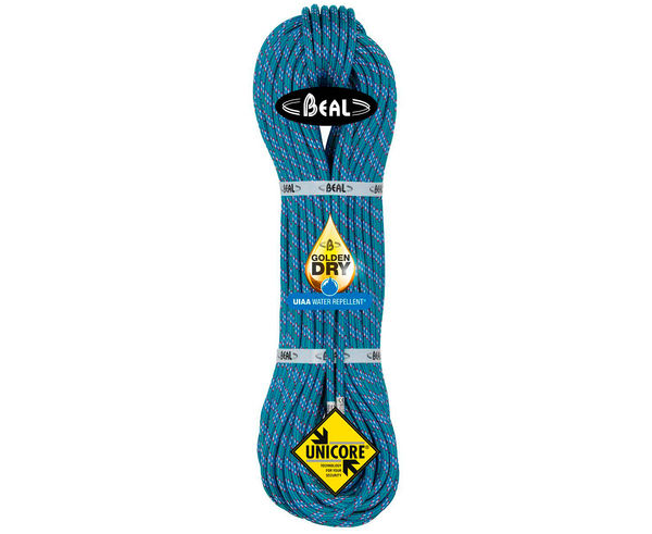 Cordes-Cintes Marca BEAL Per Unisex. Activitat esportiva Alpinisme-Mountaineering, Article: ICE LINE GOLDEN DRY 8.1.