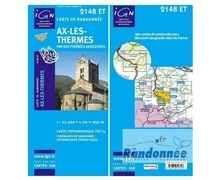 Bibliografies-Cartografies Marca IGN Per Unisex. Activitat esportiva Trail, Article: AIX LES THERMES.