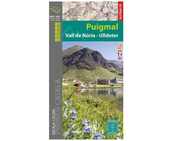 Bibliografies-Cartografies Marca EDITORIAL ALPINA Per Unisex. Activitat esportiva Trail, Article: PUIGMAL/NURIA.