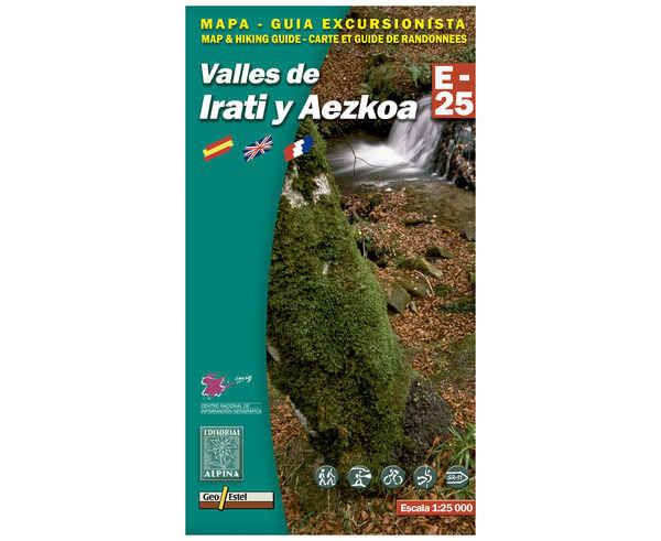 Bibliografies-Cartografies Marca EDITORIAL ALPINA Per Unisex. Activitat esportiva Trail, Article: VALLES DE IRATI I AEZKOA.