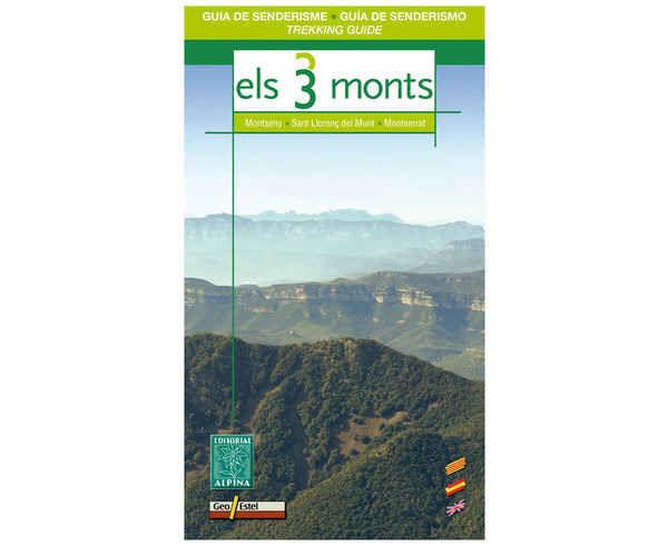 Bibliografies-Cartografies Marca EDITORIAL ALPINA Per Unisex. Activitat esportiva Trail, Article: ELS TRES MONTS.