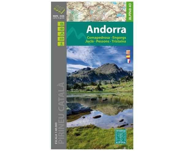 Bibliografies-Cartografies Marca EDITORIAL ALPINA Per Unisex. Activitat esportiva Alpinisme-Mountaineering, Article: ANDORRA.