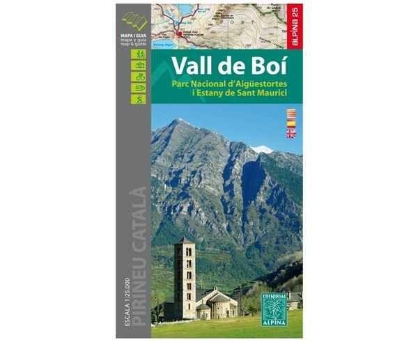 Bibliografies-Cartografies Marca EDITORIAL ALPINA Per Unisex. Activitat esportiva Trail, Article: VALL DE BOI.