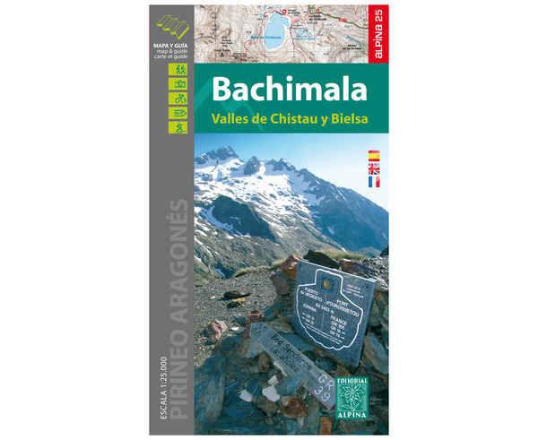 Bibliografies-Cartografies Marca EDITORIAL ALPINA Per Unisex. Activitat esportiva Trail, Article: BACHIMALA BAL DE CHISTAU.