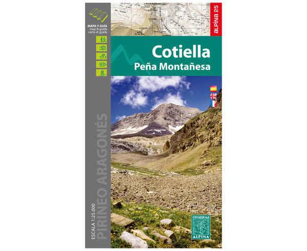 Bibliografies-Cartografies Marca EDITORIAL ALPINA Per Unisex. Activitat esportiva Trail, Article: COTIELLA.