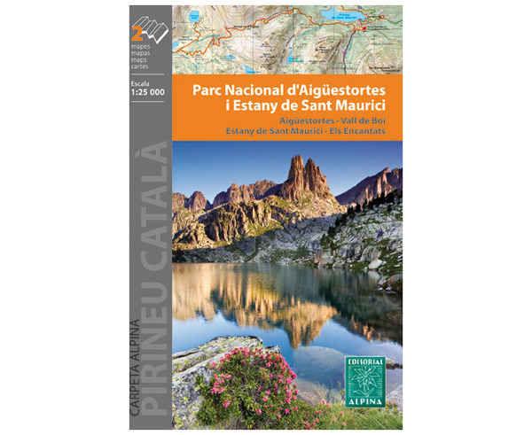 Bibliografies-Cartografies Marca EDITORIAL ALPINA Per Unisex. Activitat esportiva Alpinisme-Mountaineering, Article: PARC NACIONAL DE AIGUESTORES I ESTANY DE SANT MAURICI.