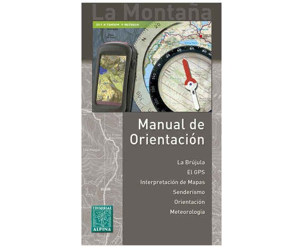 Bibliografies-Cartografies Marca EDITORIAL ALPINA Per Unisex. Activitat esportiva Trail, Article: MANUAL DE ORIENTACION.