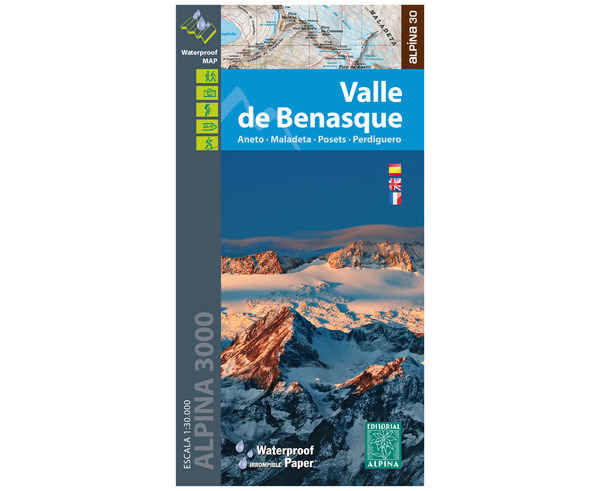 Bibliografies-Cartografies Marca EDITORIAL ALPINA Per Unisex. Activitat esportiva Alpinisme-Mountaineering, Article: VALLE DE BENASQUE.