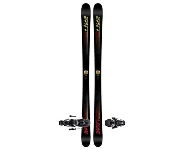 Esquís+Fixacions Marca LINE SKIS Per . Activitat esportiva Freeski, Article: HONEY BADGER + FFG 12.