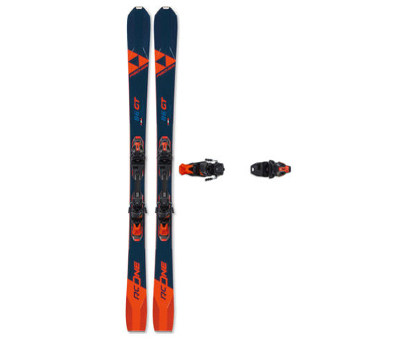 Esquís+Fixacions Marca FISCHER Per . Activitat esportiva Esquí Race FIS, Article: RC ONE 86 GT MULTIFLEX + RSW 12 GW POWERRAIL.