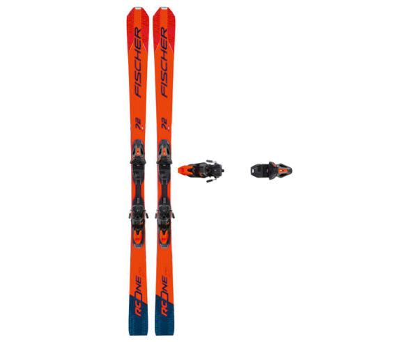 Esquís+Fixacions Marca FISCHER Per . Activitat esportiva Esquí Race FIS, Article: RC ONE 72 MF + RSX 12 GW POWERRAIL.